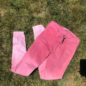 Flying Monkey Pink fade jeans
